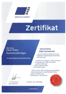 SABA Nachweis 2020